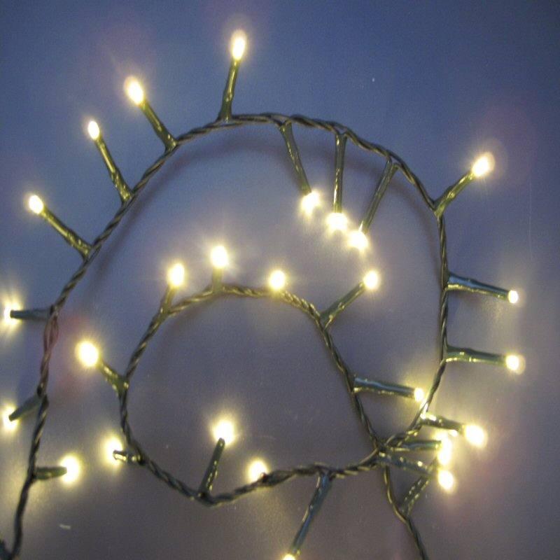 LED App gesteuerte Lichterkette 11 M mit 500 warmweissen LED ...