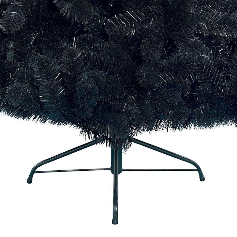 Schwarzer Weihnachtsbaum.Everland Schwarzer Weihnachtsbaum 180 Cm Imperial Pine Kunsttanne Soft Needles