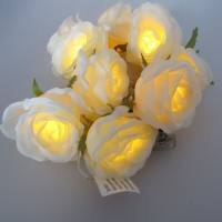 LED Batterie Lichterkette Rosen ...